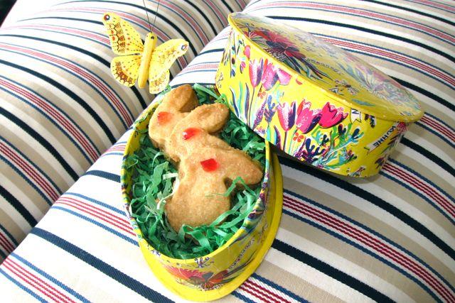 Ingwer-Shortbread zu Ostern