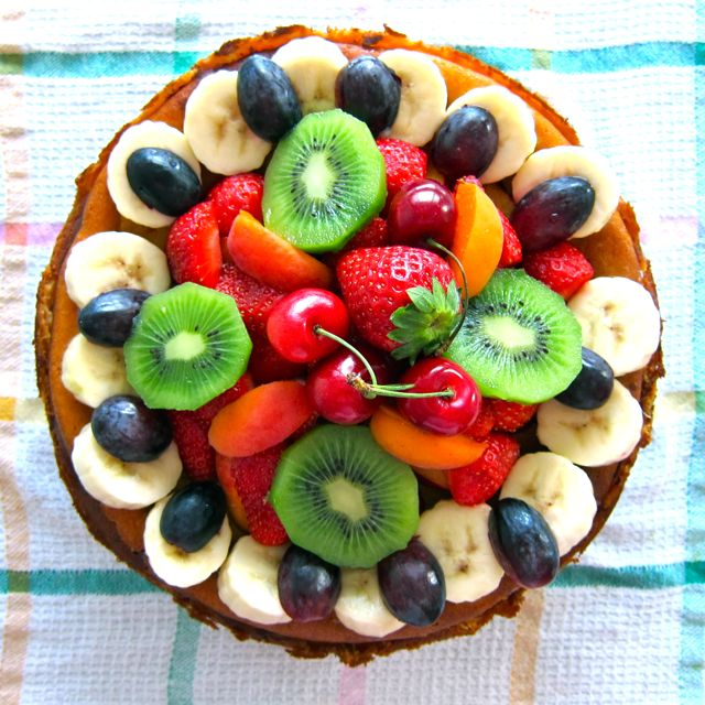 Cheesecake mit Obst – deluxe!