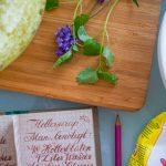 Holunder-Zitronenmelisse-Sirup
